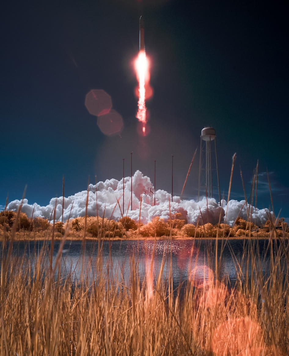 Antares Rocket With Cygnus Spacecraft Launches | NASA