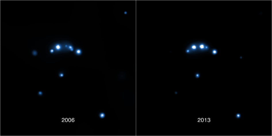 Image of binary star system IGR J18245-2452