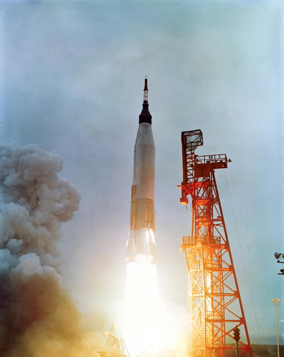 friendship 7 spacecraft take off - photo #11