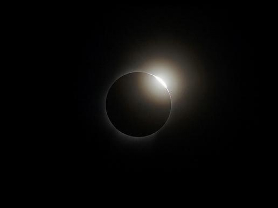 2008 Solar Eclipse Diamond Ring