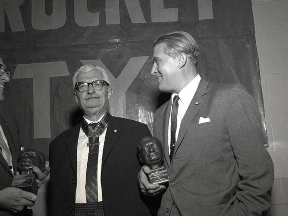 Pioneers Hermann Oberth And Wernher Von Braun Nasa