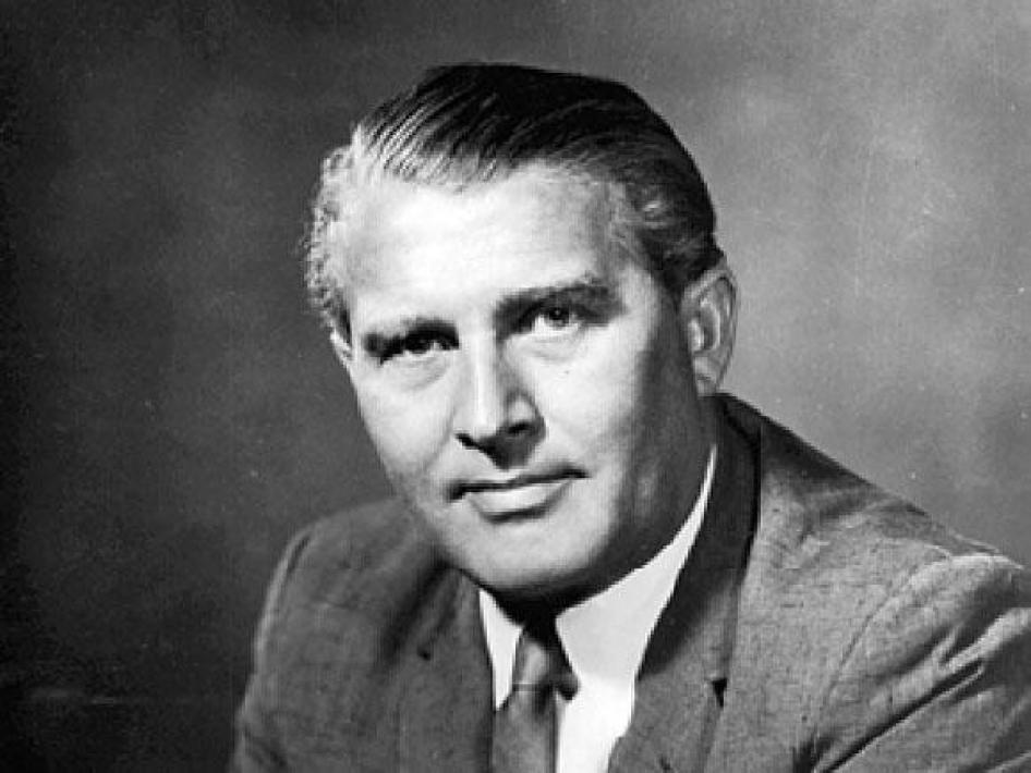 Pioneers Wernher Von Braun Nasa
