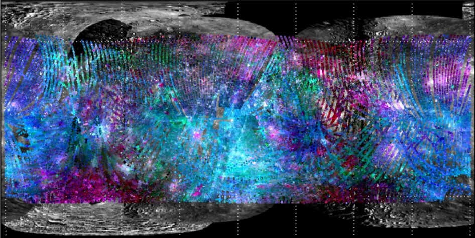 Mapping Spectral Variations on Mercury with MASCS