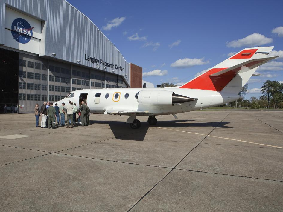 NASA Langley is back in the jet age