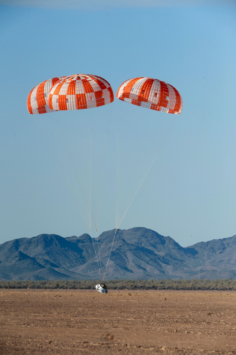 Orion Parachute Test, July 18