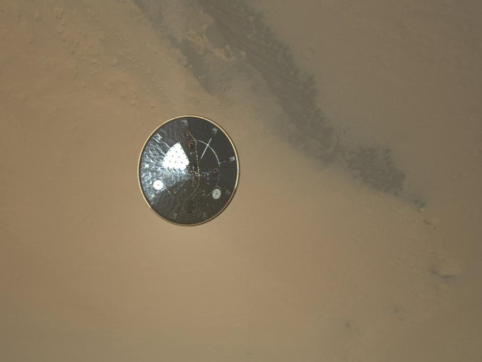 Curiosity's Heat Shield in Detail