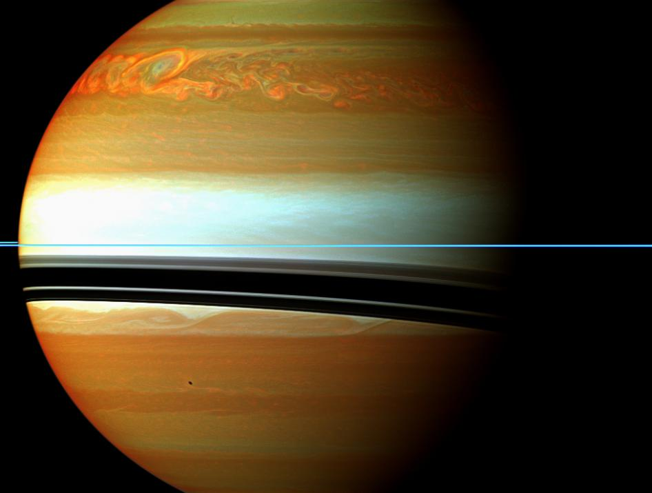 Storm on Saturn | NASA