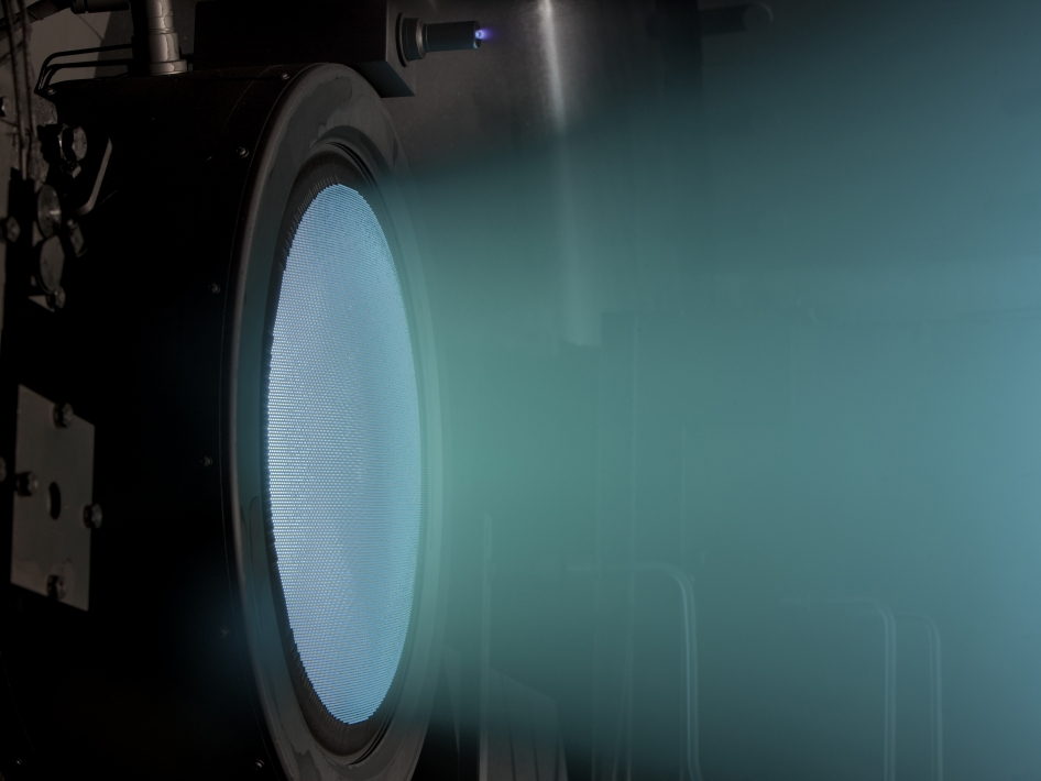 Ion Thruster sets World Record