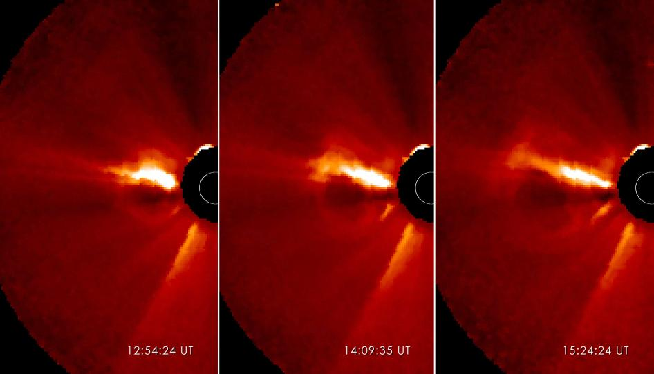 New Sunspots Producing Space Weather