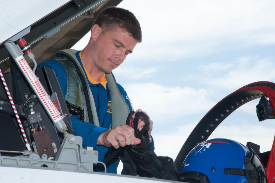 NASA Astronaut Reid Wiseman Preps for Flight   NASA