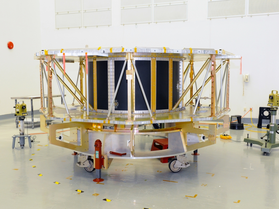 MMS Spacecraft Structure