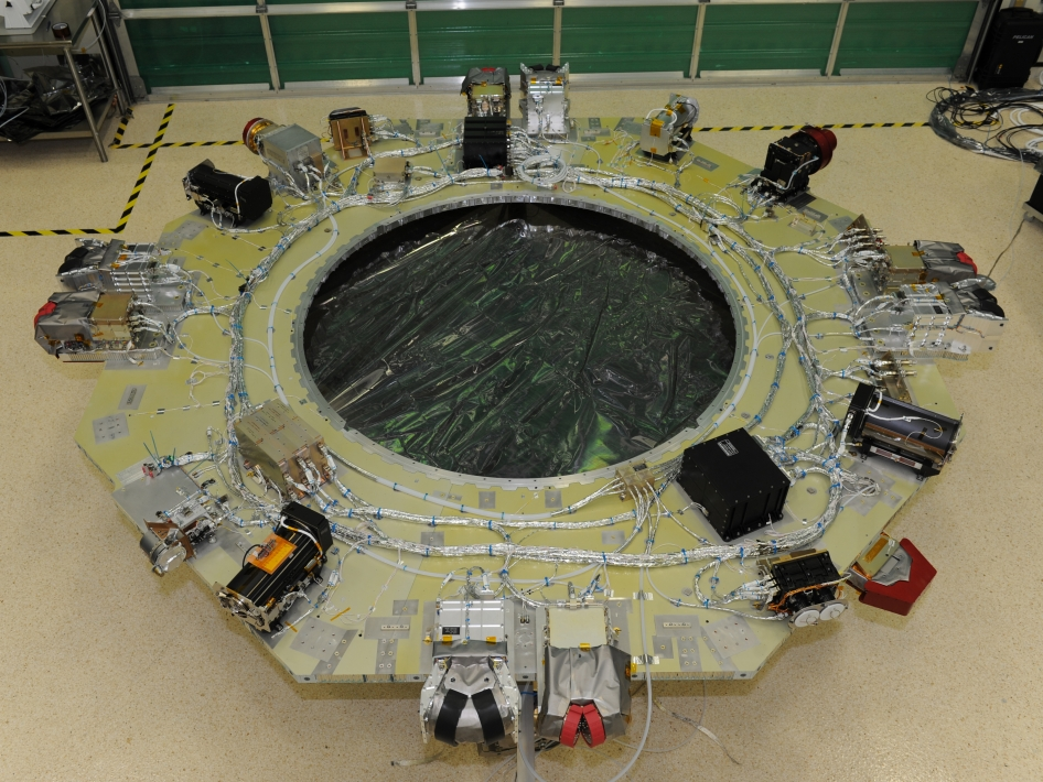 MMS Completed Instrument Deck