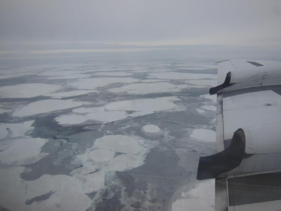 Sea Ice in Nares Strait