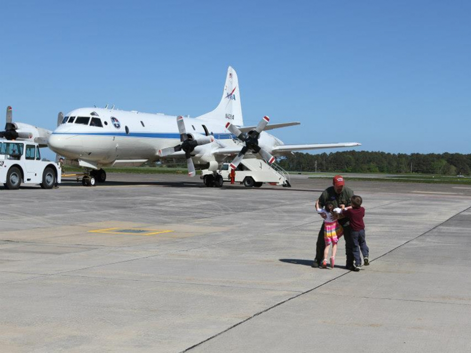 P-3B Back at Wallops Flight Facility