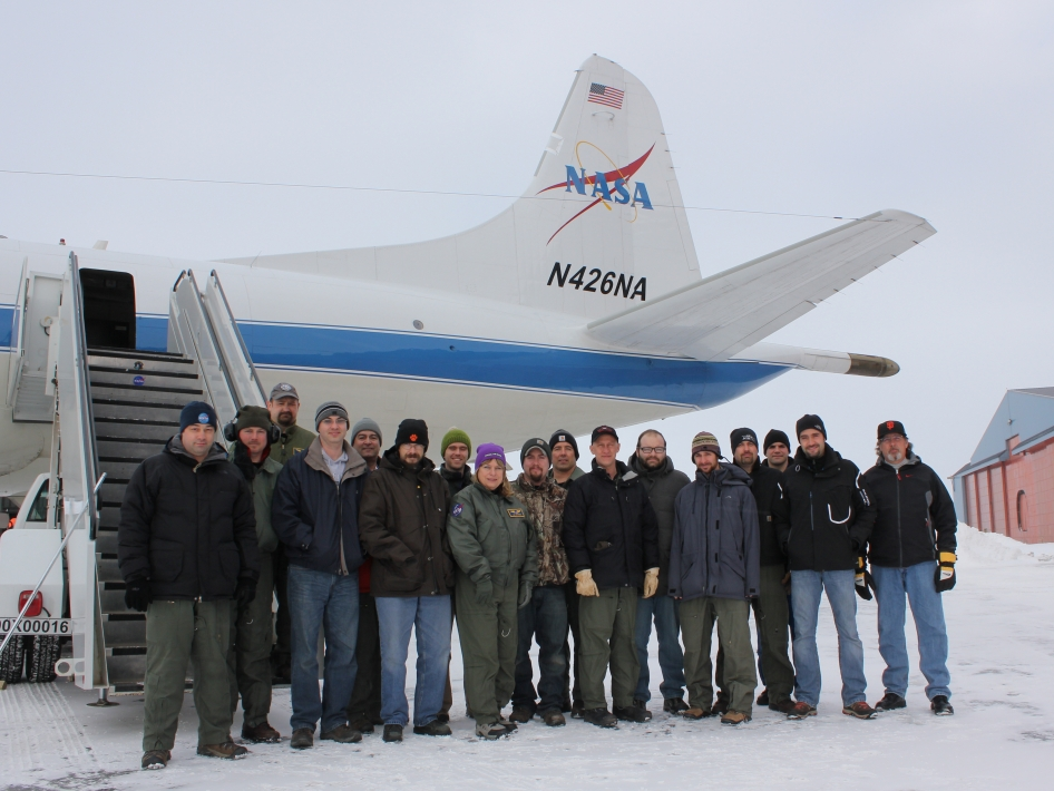 The IceBridge Arctic 2013 Team