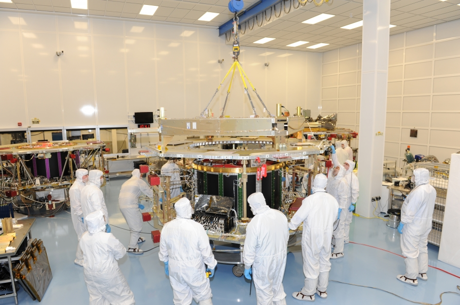 Fourth MMS Observatory Integrated