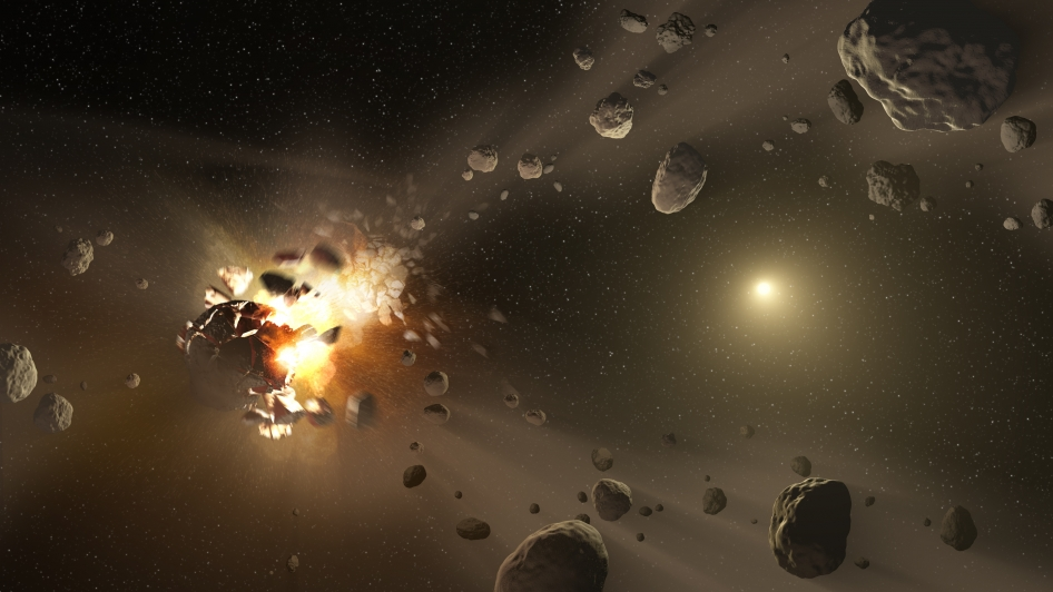 Asteroid Family's Shattered Past