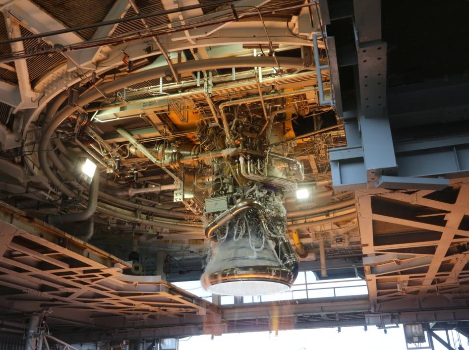J-2X Gimbal Testing at Stennis Space Center | NASA
