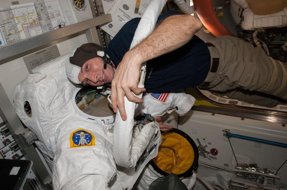 Astronauts Prepare for Spacewalks | NASA