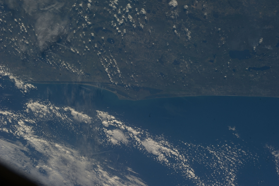 NASA astronaut Steve Swanson captured this view of Cape Canaveral, Florida from the International Space Station, sharing it on Instagram on April 14, 2014.
