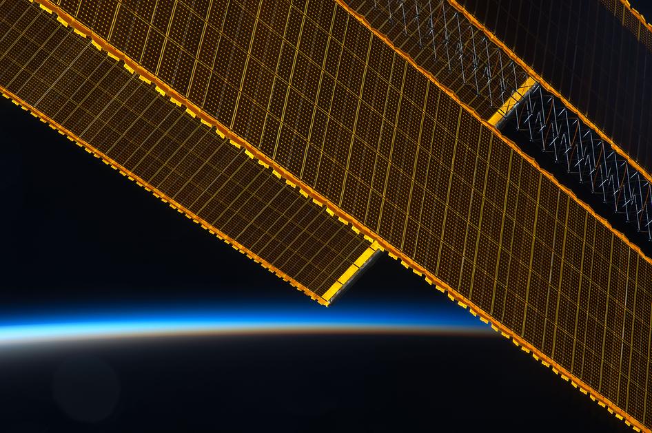 International Space Station Solar Arrays