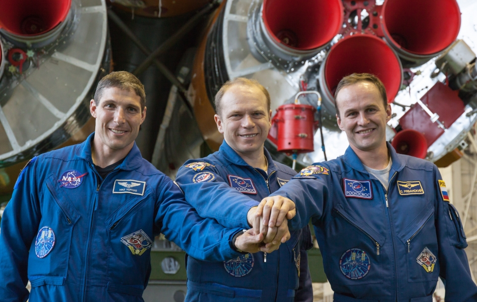 Expedition 37/38 Crew Members