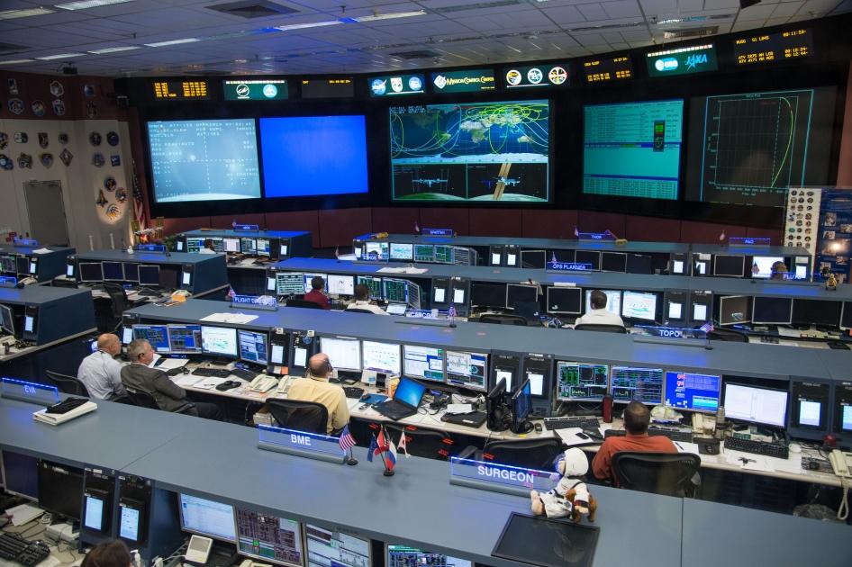Johnson Space Center's Mission Control Center | NASA