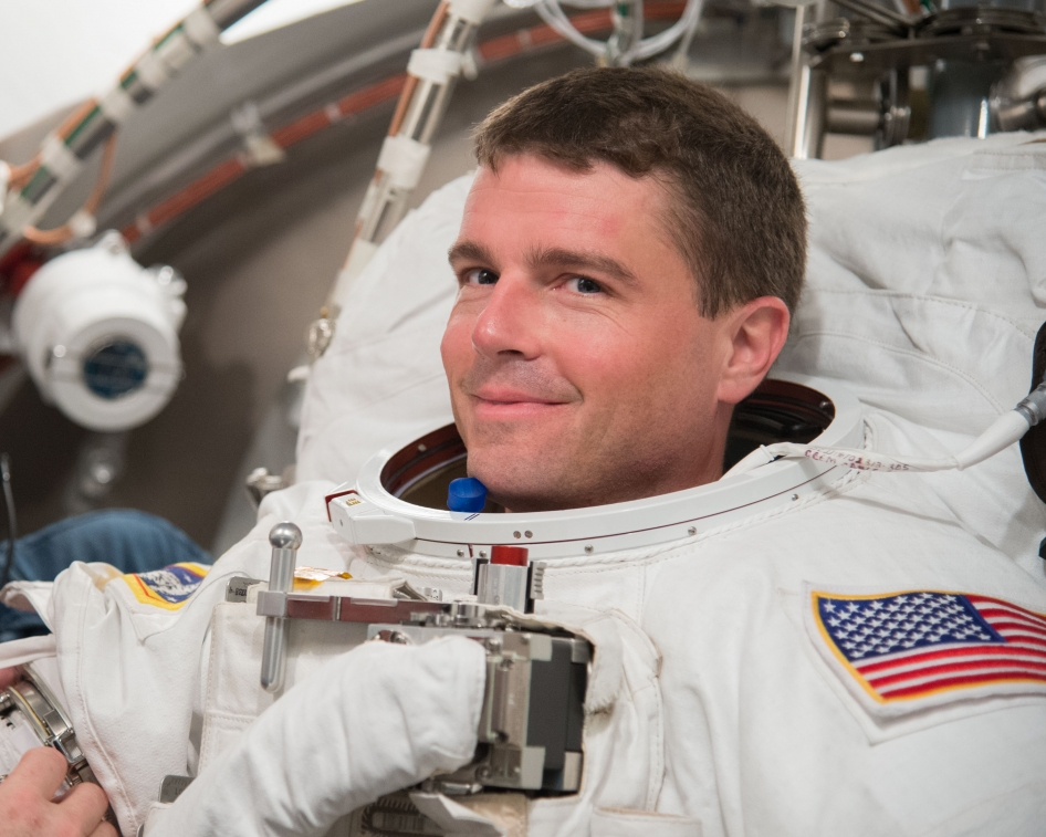 Spacesuit Fit Check for Astronaut Reid Wiseman | NASA