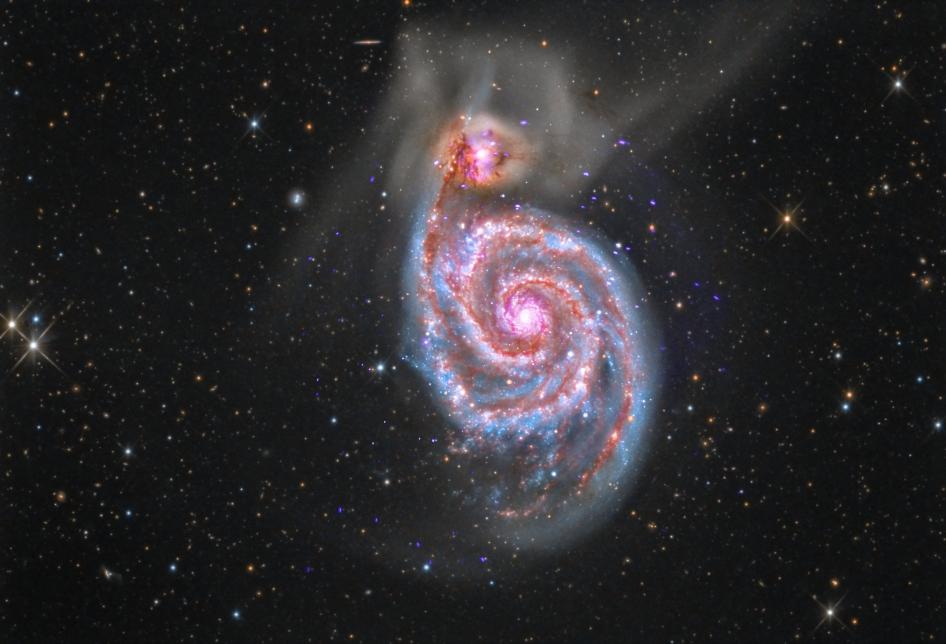 nasa whirlpool galaxy - photo #10