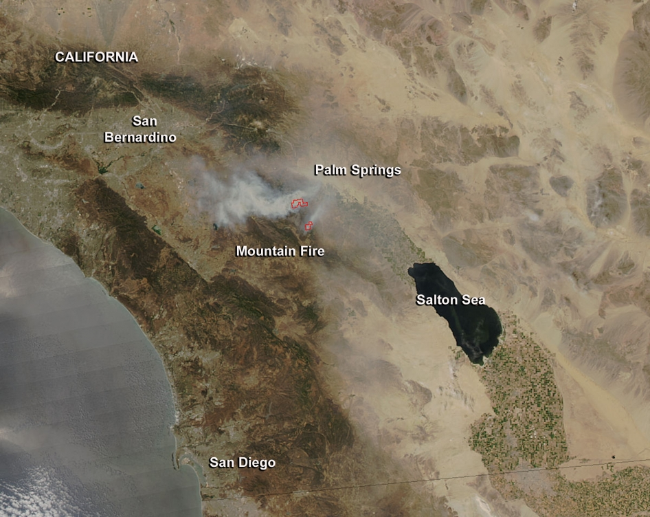 California's Mountain Fire