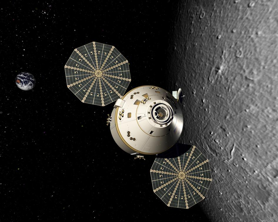 nasa orion moon - photo #9