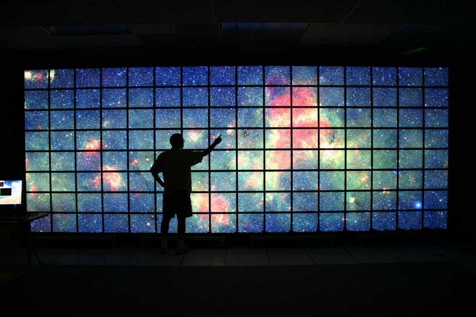commercial wallpaper installation
