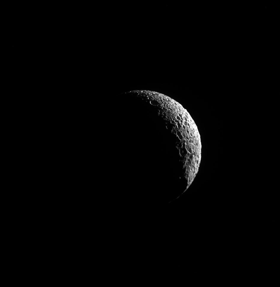 Crescent Mimas | NASA