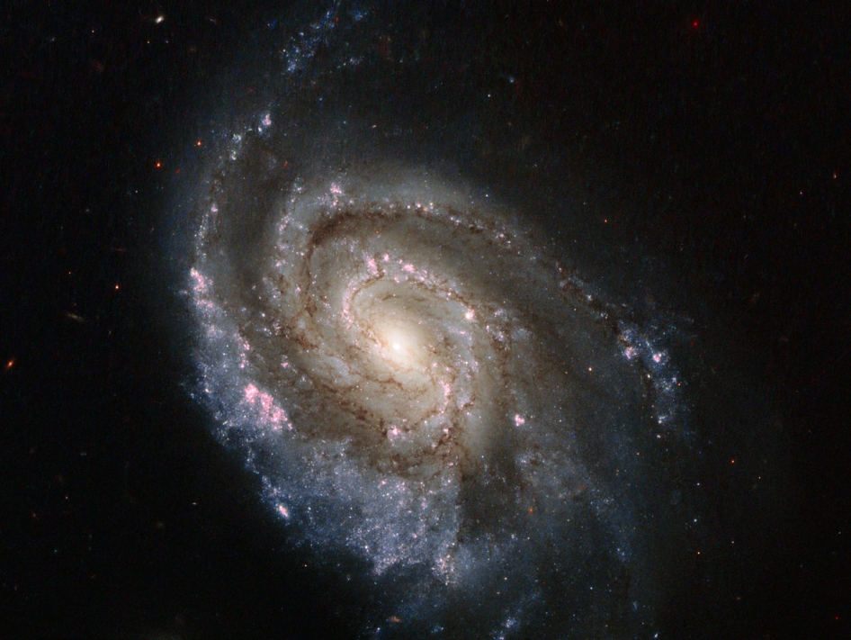 The subject of this new Hubble image, spiral galaxy NGC 6984, played host to one of these explosions back in 2012, known as SN 2012im. Now, another star has exploded, forming supernova SN 2013ek — visible in this image as the prominent, star-like bright object just slightly above and to the right of the galaxy's center.
