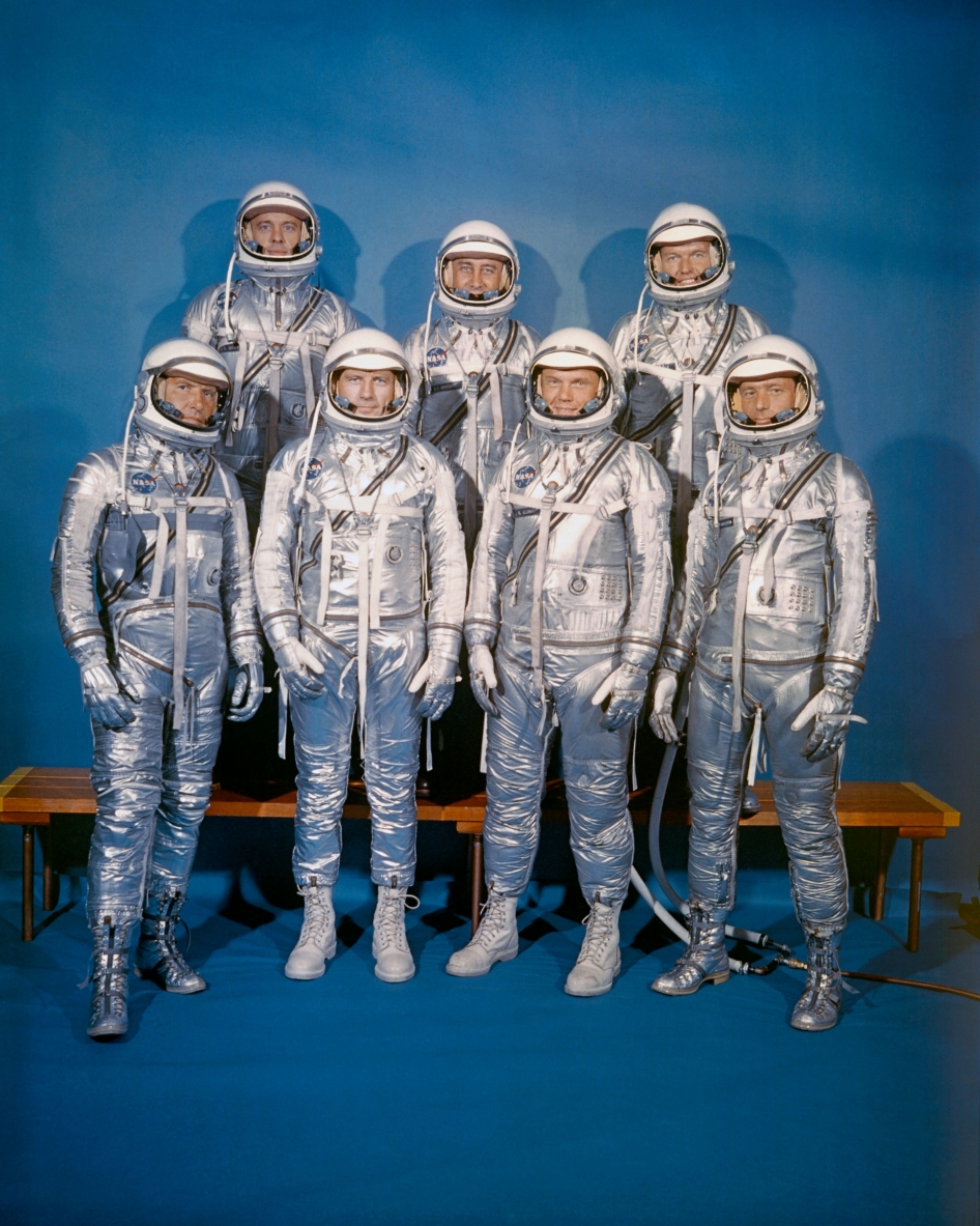On April 9, 1959, NASA introduced its first astronaut class, the Mercury 7.