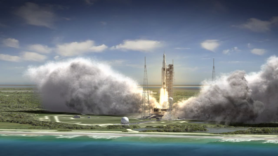 Space Launch System Blasts Off | NASA
