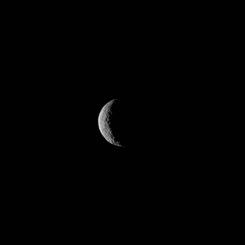 Ceres Seen From NASA's Dawn Spacecraft