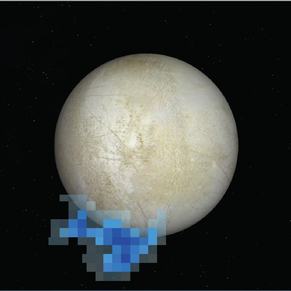V okolí měsíce Europa se nachází molekuly vody, objev podporuje teorii o existenci gejzírů na jejím povrchu