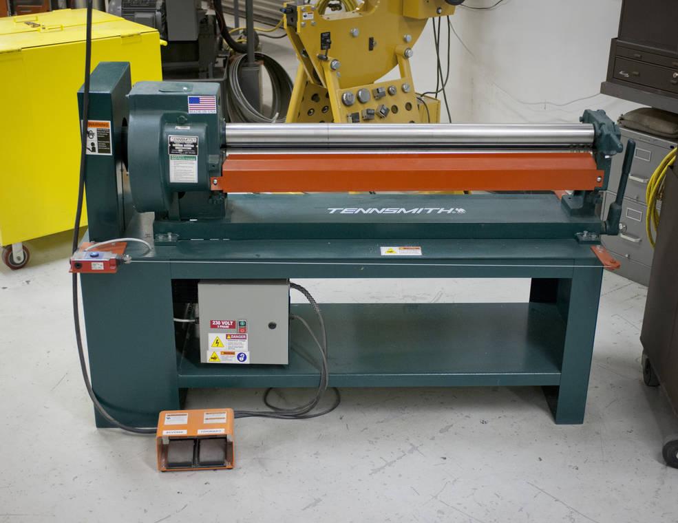 Building 703 Fabrication Shop Roller Nasa
