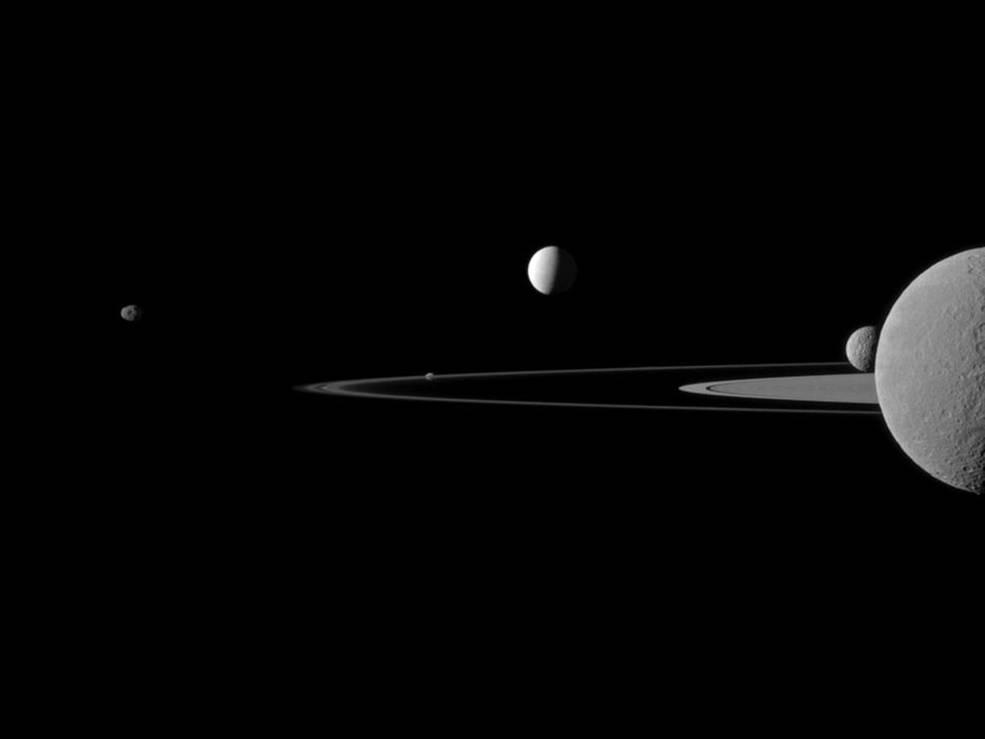 Quintet of Moons