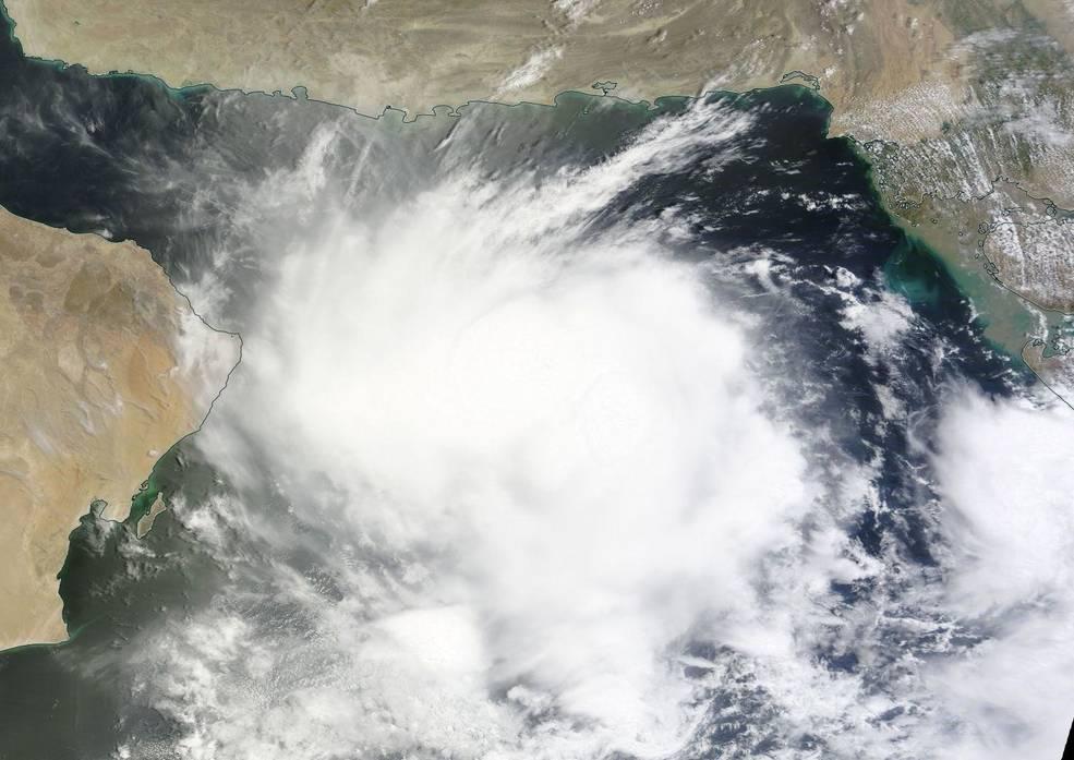 MODIS image of 02A
