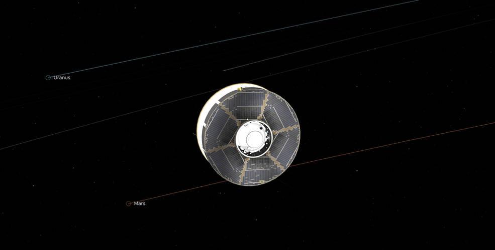 El Rover Perseverance de la NASA está a medio camino de Marte.