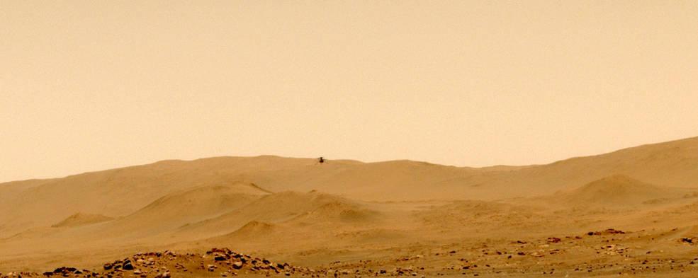 NASA's Ingenuity Mars Helicopter's fifth flight