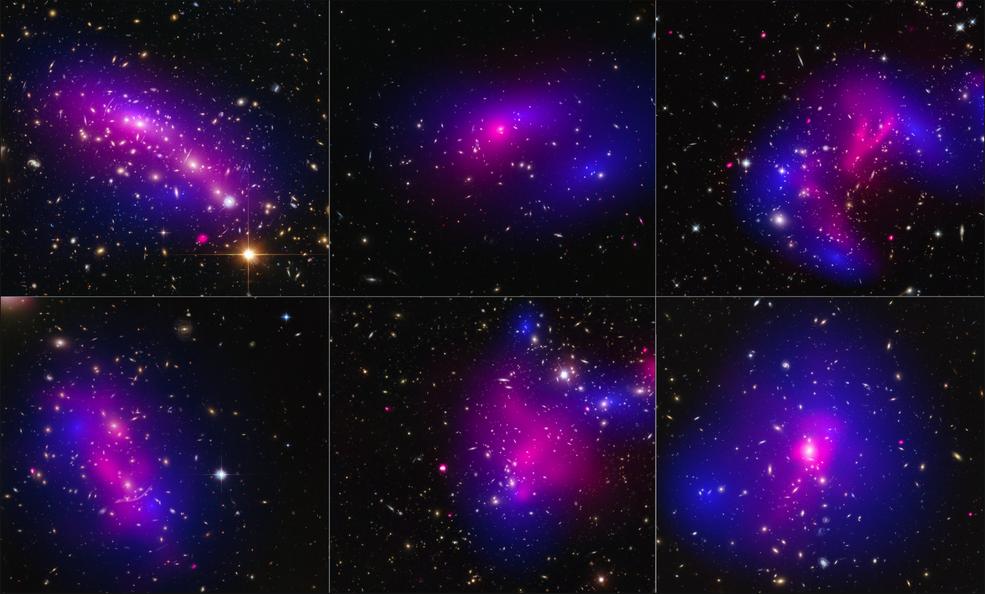 NASA's Hubble, Chandra Find Clues that May Help Identify Dark Matter