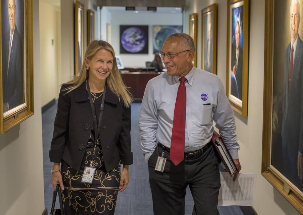NASA Deputy Administrator Dr. Dava Newman