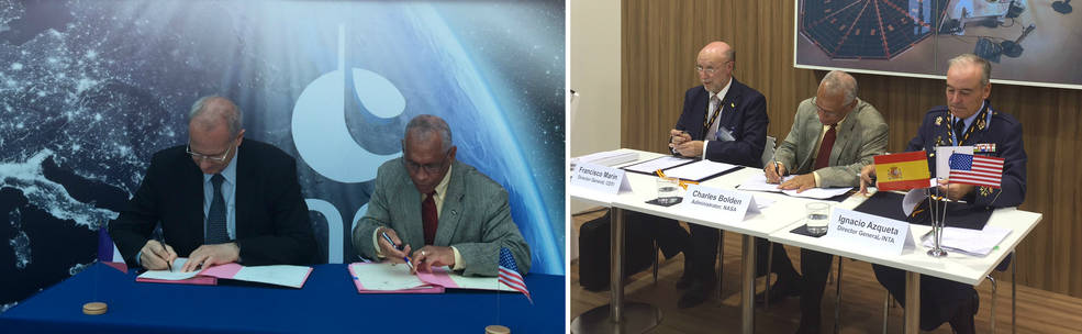 NASA signs MOUs with Spain and France to further journey to Mars