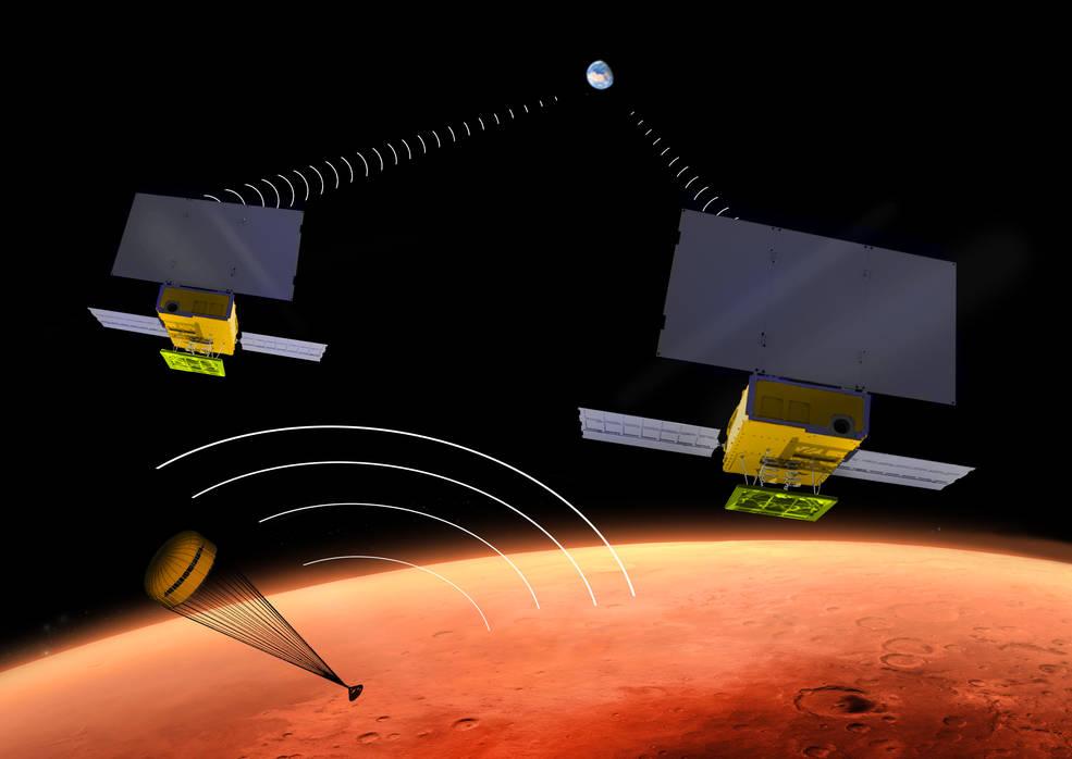 NASA's MarCO CubeSats