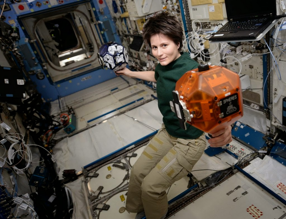 SPHERES on ISS