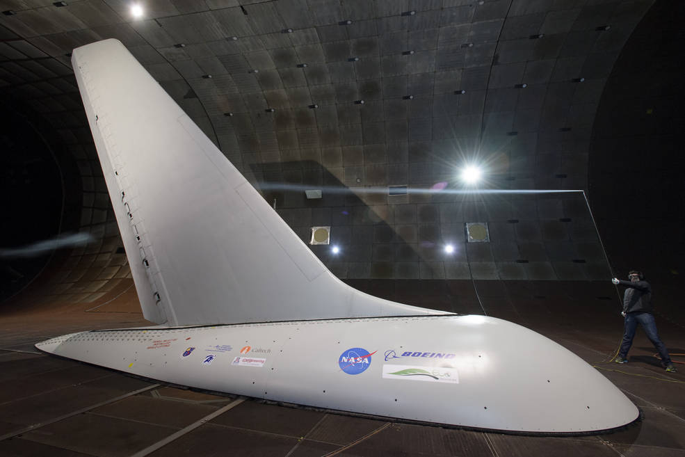 NASA wind-tunnel tests of an Active Flow Control system