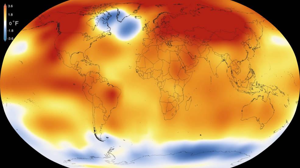 2015 Global Temperatures